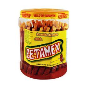 Betamex banderilla de tamarindo con chile 50 piezas