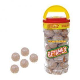 Betamex Bola de tamarindo tarugo de azucar 100 piezas 1.5 k