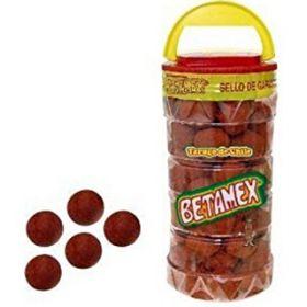 Betamex Bola de tamarindo tarugo de chile 100 piezas 1.5 k
