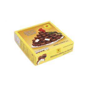 De la Rosa Malvavisco cubierto con chocolate 50 piezas de 7g