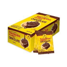 DE LA ROSA MAZAPAN GIGANTE CUBIERTO DE CHOCOLATE 12PIEZAS