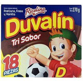 Duvalin Trisabor 18 piezas 207g