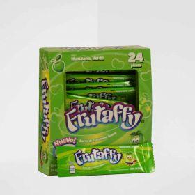 Frutaffy Manzana Verde 24 paquetes de 6 piezas 144g