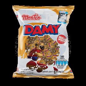 Montes Damy Caramelo 100 piezas