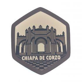 Calcomania Sticker Pueblo Mágico Chiapa de Corzo, Chiapas