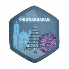 Calcomania Sticker Pueblo Mágico Chignahuapan, Puebla
