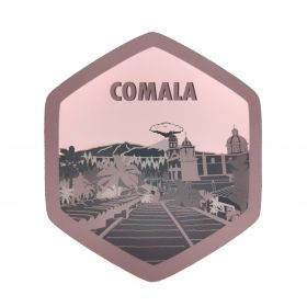 Calcomania Sticker Pueblo Mágico Comala, Colima