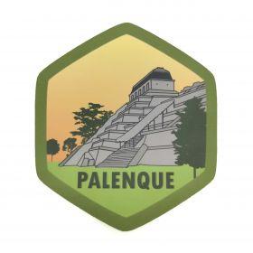 Calcomania Sticker Pueblo Mágico Palenque, Chiapas