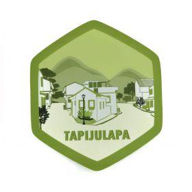 Calcomania Sticker Pueblo Mágico Tapijulapa, Tabasco
