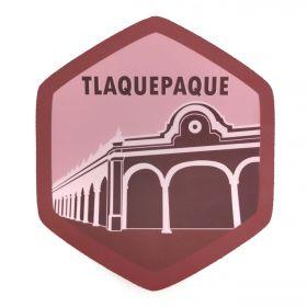 Calcomania Sticker Pueblo Mágico Tlaquepaque, Jalisco