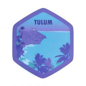 Calcomania Sticker Pueblo Mágico Tulum, Quintana Roo