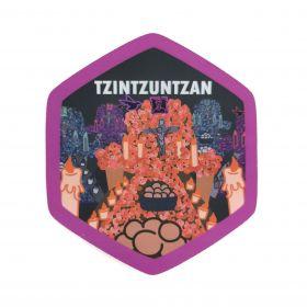 Calcomania Sticker Pueblo Mágico Tzintzuntzan, Michoacán