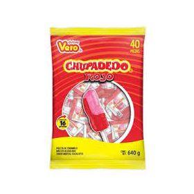 Vero Chupadedo Paleta 30 piezas 660g