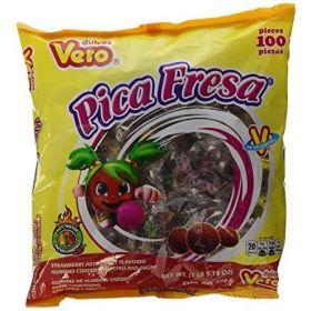 Vero Pica Fresa 100 piezas 600g